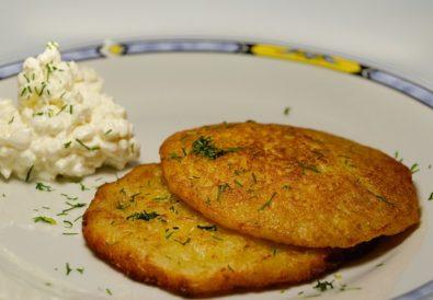 Cuketové placičky se sýrem – RECEPT 3