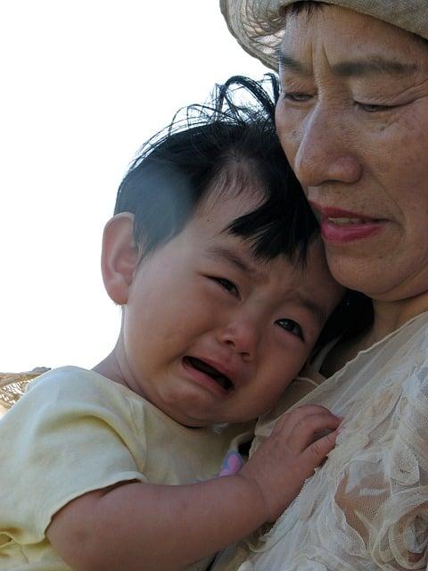 Děti, Pláč