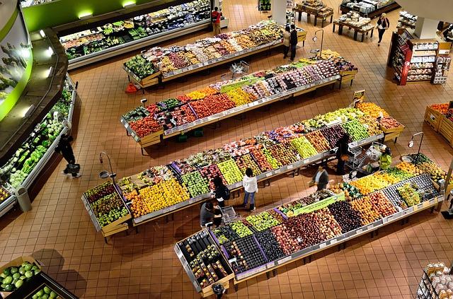 Potraviny, Obchod