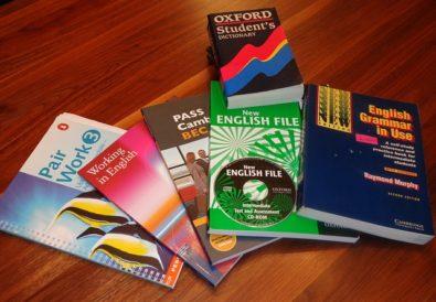 Učebnice, Angličtina