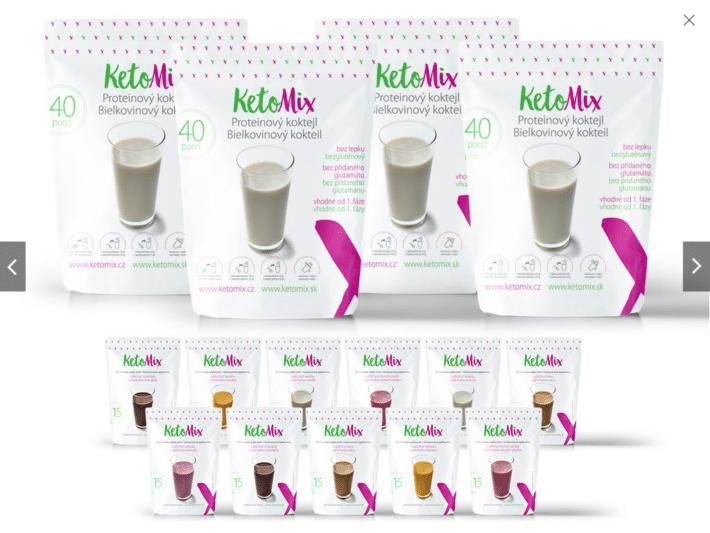 ketomix balíček
