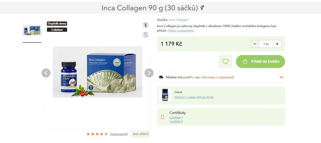 inca collagen recenze